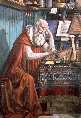 St. Jerome in his Study 1480