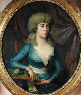 Portrait of Madame Lepage 1797