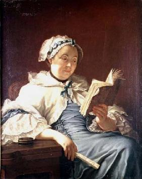 The artist's wife 1758