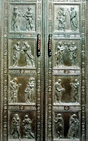 Doors depicting Martyrs 1440-43