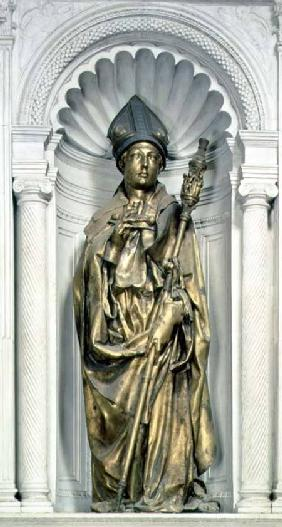 St. Louis of Toulouse, sculpture