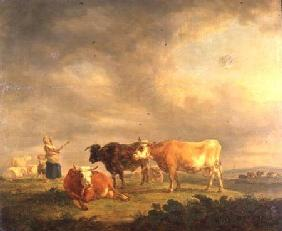 Cattle Grazing in a Landscape c.1820