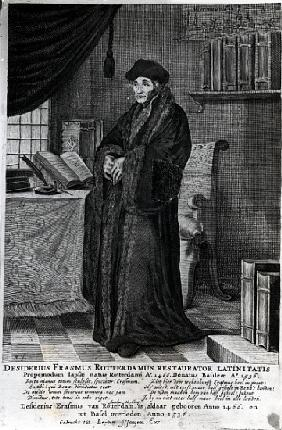 Desiderius Erasmus, ''Restorer of the Latin language''