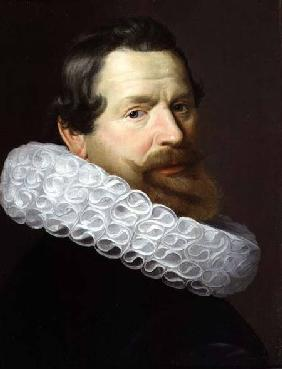 Portrait of a Man Wearing a Ruff