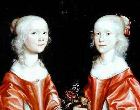 Portrait of Twin Sisters c.1650