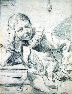 Schoolboy at his Desk c.1630-45