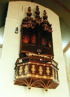 View of the organ 1637