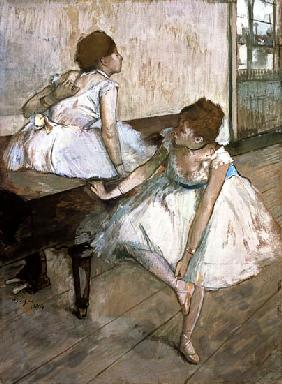 Two dancers resting 1874