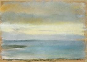 Marine sunset c.1869