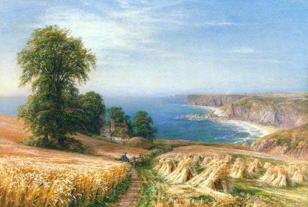 Harvest time by the Sea 1881
