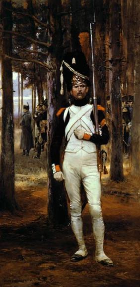 Kunstdruck von Edouard Detaille - Grenadier Guard
