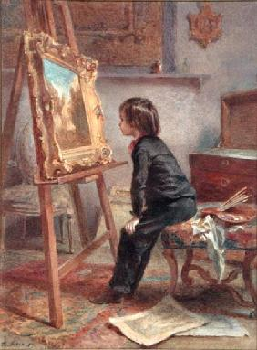 The Young Connoisseur 1869  on