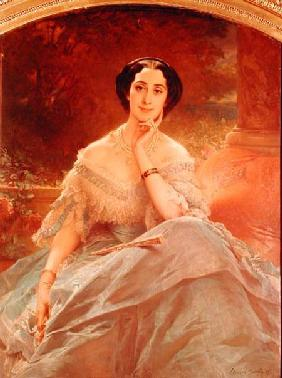 Portrait of the Countess of Hallez-Claparede 1857