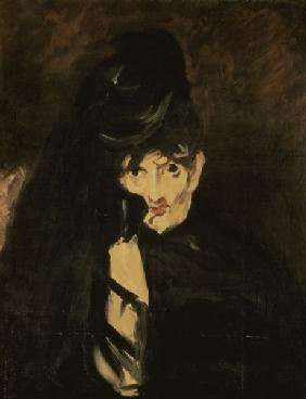 Berthe Morisot in mourning / Manet, 1864