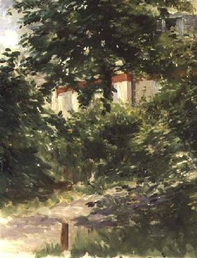 A Corner of the Garden in Rueil 1882
