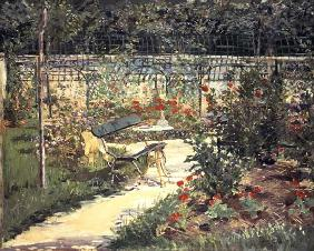 The Bench in the Garden of Versailles 1881