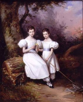Portrait of Two Children 1831