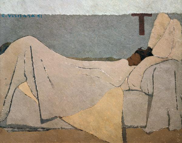 In Bed 1891