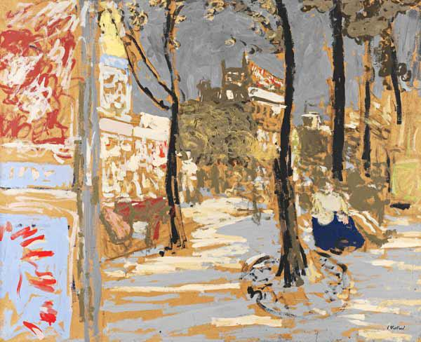 Edouard Vuillard - alle Kunstdrucke & Gemälde bei KUNSTKOPIE.DE.