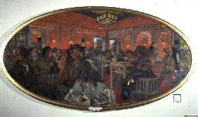 The Tea Room in the Grand Teddy, 1918/9