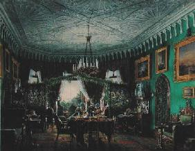 Drawing Room of Empress Alexandra Feodorovna (1798-1860) 1850s