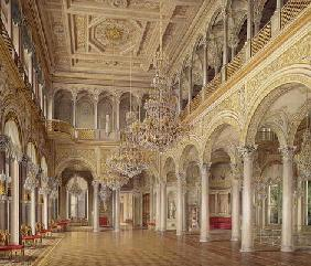 The Pavilion Hall, The Small Hermitage, 1864 (colour litho) 19th