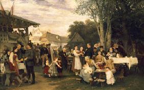 Laendliches-Fest-in-Schwaben