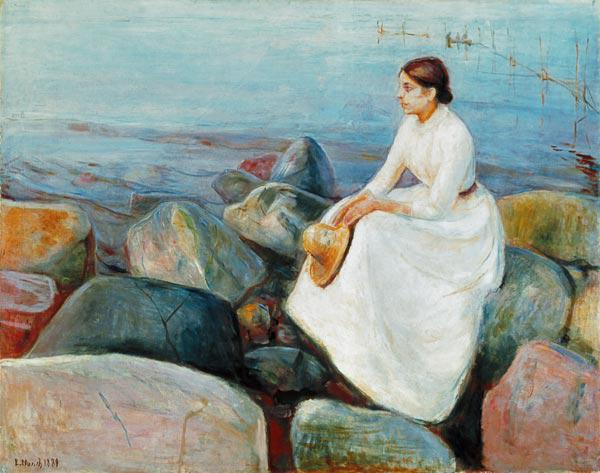Inger on the Beach 1889
