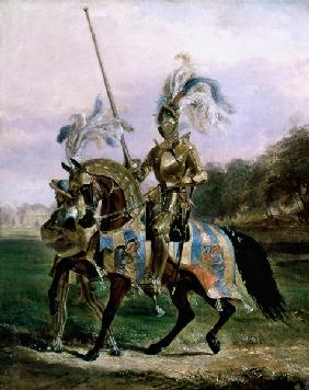 At Eglinton, Lord of the Tournament 1840