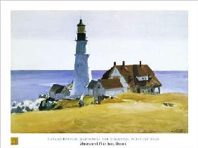 Hopper, Edward : Lighthouse and Buildings -...