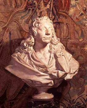 Portrait bust of Sir Christopher Wren (1632-1723)