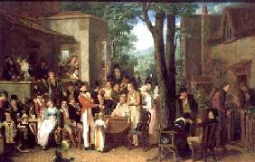 A Recruiting Party 1822