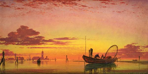 Mazzorto on the Lagoon, Venice 1864