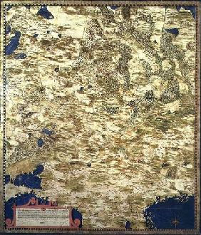 Map of Sixteenth Century Russia 1575