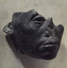 Fragment of a statue of Sesostris III (c.1836-1817 BC) as an old man, Middle Kingdom