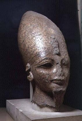 Head of Amenophis III, from Thebes, New Kingdom c.1403-136