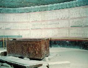 Interior of the tomb of Tuthmosis III (c.1490-39 BC) New Kingdom (photo)