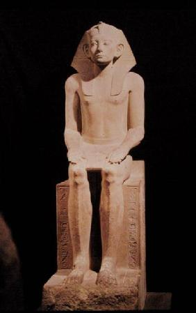 Seated Statue of Amenemhat III (1843-1798 BC)