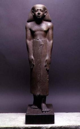 Statuette of Amenemhatankh, worker at Crocodilopolis (Fayum) from the reign of Amenemhat III, Middle c.1843-179