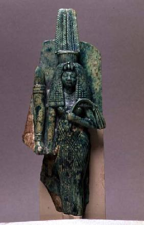 Statuette of Queen Tiy, wife of Amenophis III, New Kingdom c.1391-135