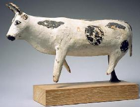 Bull or ox, Middle Kingdom (painted wood) 1894