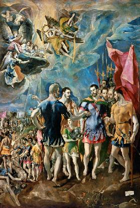 The Martyrdom of St. Maurice 1580-83