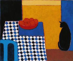 Still Life with Boris, 2002 (acrylic on paper)