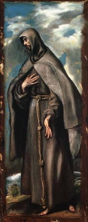 St.Francis of Assisi (c.1182-1220)