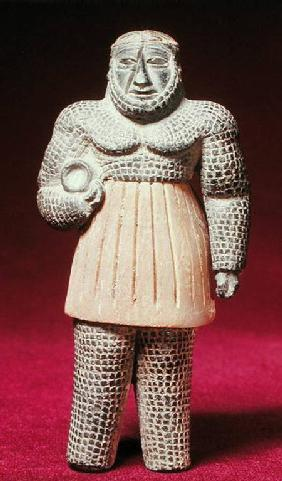 Statue of a man, from Fasa c.3000 BC