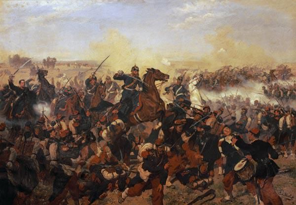 The Battle of Mars de la Tour on the 16th August 1870