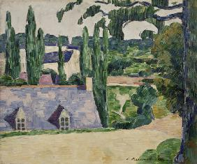 Landschaft in Pont-Aven 1889