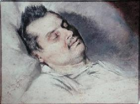 Honore de Balzac (1799-1850) on his Deathbed 15th Augus