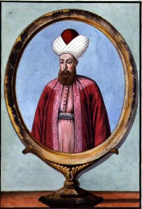 Amurath (Murad) I (1319-89), Sultan 1359-89, from 'A Series of Portraits of the Emperors of Turkey' 1808