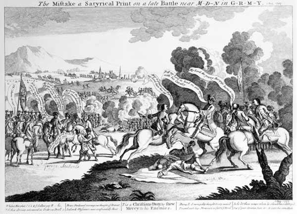 Battle of Minden, 1st August 1759